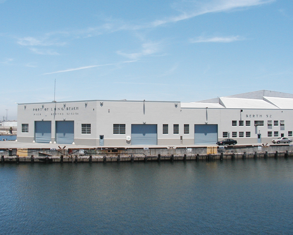 Historical Building at Port of Long Beach